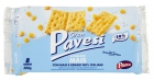 Gran Pavesi I Cracker Mais 8 x 35g  = 280g Salzige Backware Cracker mit Mais